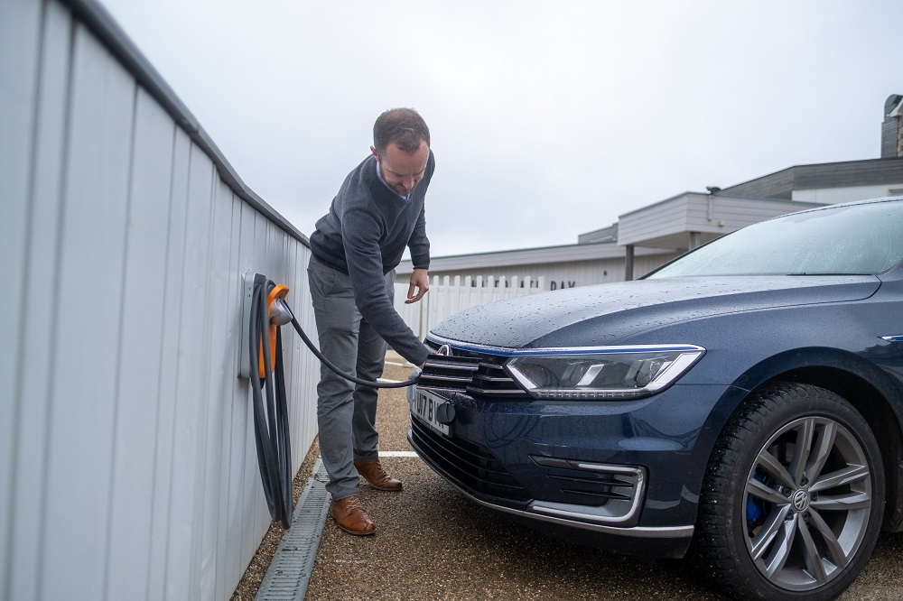 Getting Watergate Bay Hotel plugged into electric vehicle charging