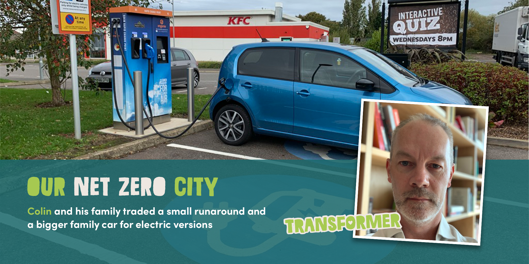 Colin's electric journey