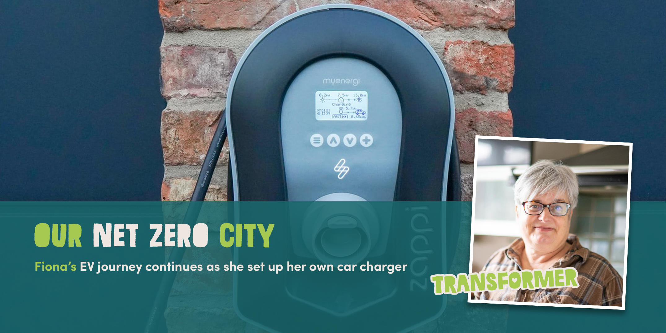 Setting up an electric car charger