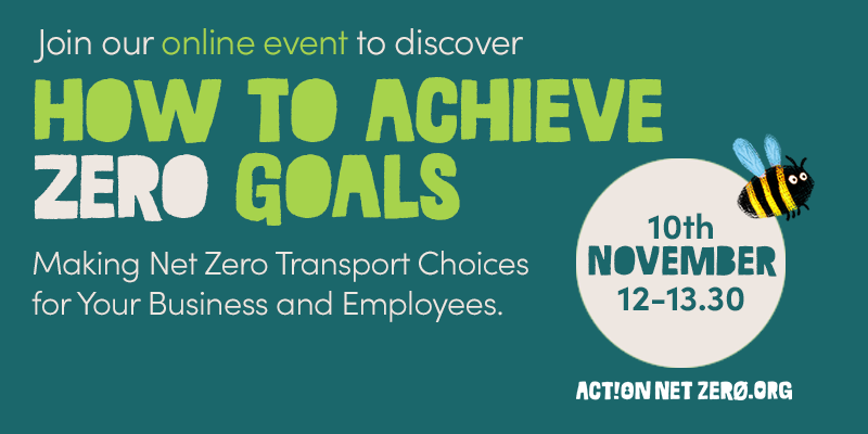Learn How to Make Net Zero Transport Choices for Your Business and Employees